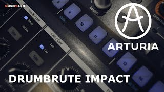 Arturia DrumBrute Impact - аналоговая драм машина