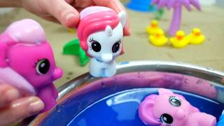 My little pony play in Party