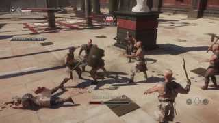 RYSE Son Of Rome: Gladiator Mode Solo 1st Attempt Live Commentary