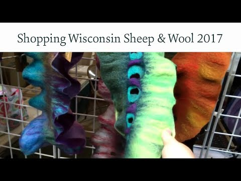 Shop With Me Knitters: Wisconsin Sheep & Wool 2017