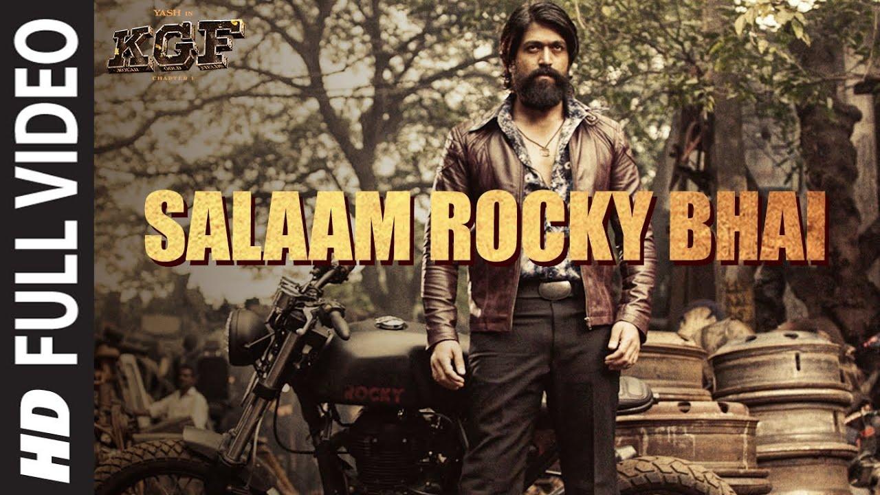 Download Full Video: SALAAM ROCKY BHAI | KGF Chapter 1 | Yash, Srinidhi Shetty | Prashanth Neel