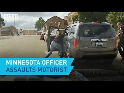 Minnesota Officer Assaults Motorist