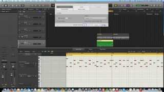 Editing Logic Pro X Drummer with Piano Roll