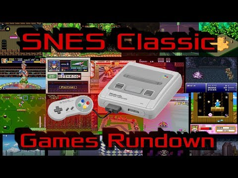 SNES Classic Games Review