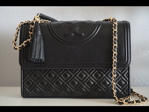 cf9d7c7d0 Unboxing: Tory Burch Fleming Convertible Shoulder Bag - YouTube