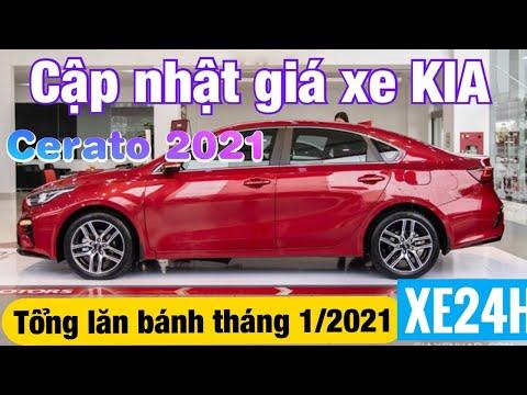 Cập nhật giá xe KIA Cerato 2021, tổng lăn bánh tháng 1/2021
