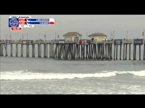 Sofía Mulanovich - US Open Of Surfing 2013, Round 2
