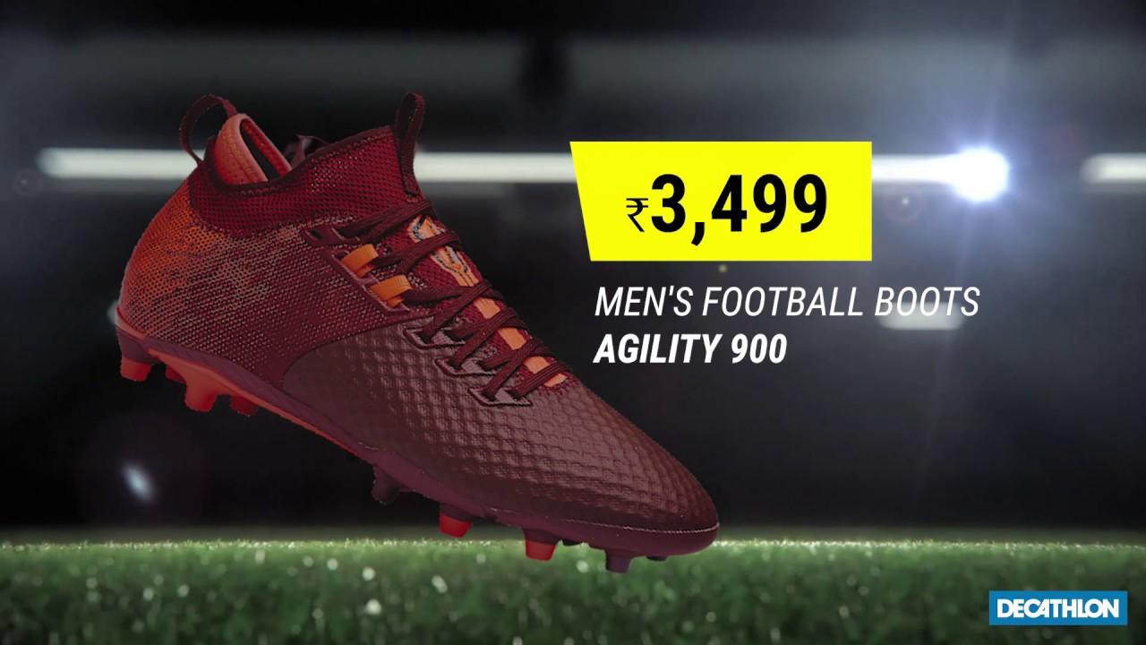 Agility 900 Football Boots - YouTube