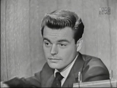 What's My Line? - Robert Wagner; Gordon MacRae [panel] (Nov 2, 1958)