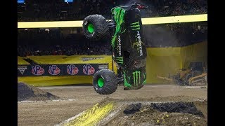 THAT'S A WAY TO WIN YOUR TOUR!! Monster Jam Week 12 March 30 New Orleans Stadium Tour Commentary!