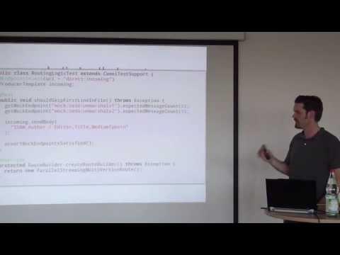 Eric Weikl - Enterprise Integration mit Apache Camel  - Java User Group München - 15.7.2013