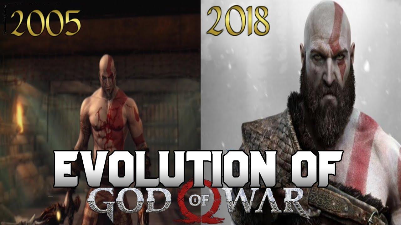 Graphical Evolution of God of War (2005-2018)