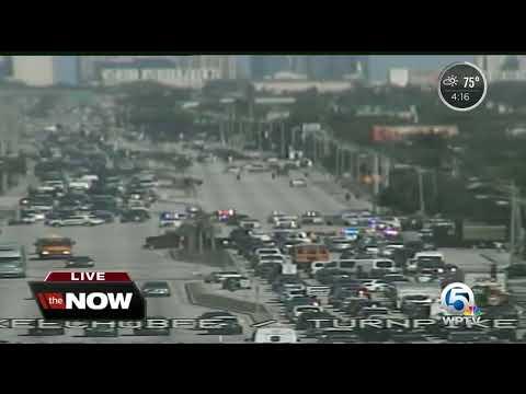 Section Of Okeechobee Blvd. Shut Due To Police Activity