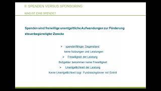 """Webinar """"Sponsoring im gemeinnützigen Bereich"""" Haus des Stiftens gGmbH"""