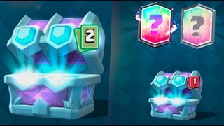 AMAZING ''DRAFT CHEST'' OPENING :: Clash Royale :: LUCK TWO LEGENDARIES IN THIS CHEST!?
