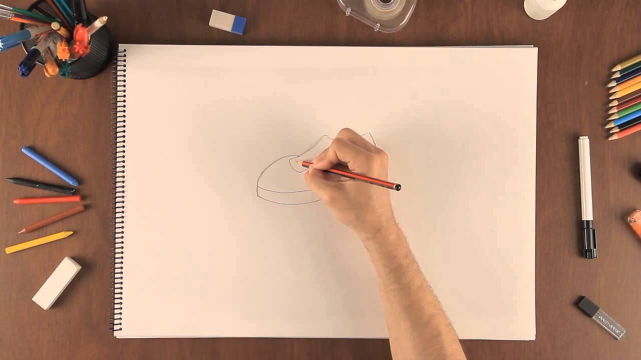 Cmo dibujar un zapato  Aprende a dibujar como un profesional