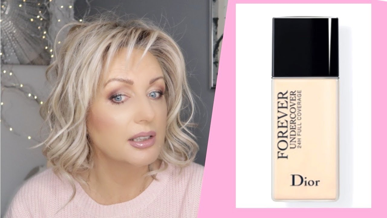 NEW! DiorSkin Forever UNDECOVER Foundation- Demo & Review - YouTube