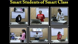 Smart students of Smart Class ll Grow your skills to get your dream job. Join IQ The smart class.