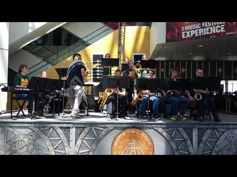 2014 Spring Trip - McNicholas Jazz/Rock Orchestra - Theme from Shaft