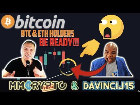 ALL BITCOIN & ETHEREUM HOLDERS: BE READY!!! INCREDBILE SIGNAL for BTC & ETH w. DavinciJ15!!