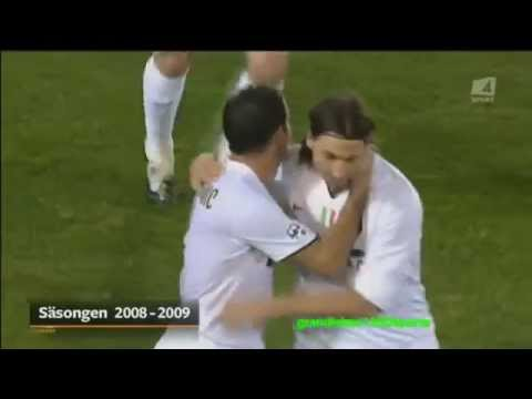 Zlatan ibrahimovic - all 100 goals in serie a [hd]