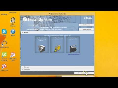 SketchUp Make 2014: Introduction