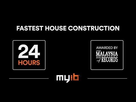 Fastest House Construction in 24 HOURS! (Using Interlocking Bricks Technology)