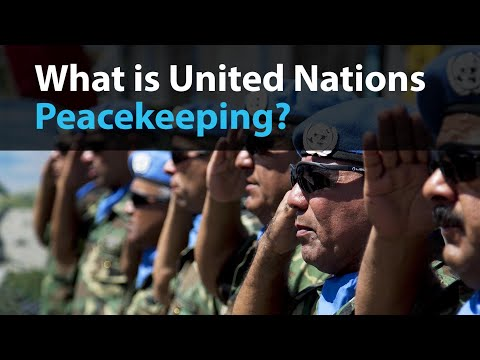 Explainer- What is UN Peacekeeping