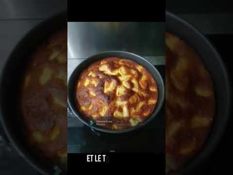 gateau-au-yaourt-et-aux-pommes-facile