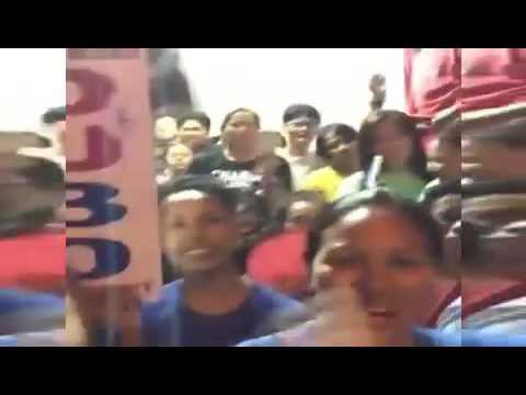 Duterte Cayetano 2016: Live In Pandacan Manila A Mobbed Grand Intrance Of Mayor Duterte