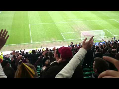 Since I Was Young - Hibs Vs Hearts Upper Stand at Easter Road 27 Apr 14