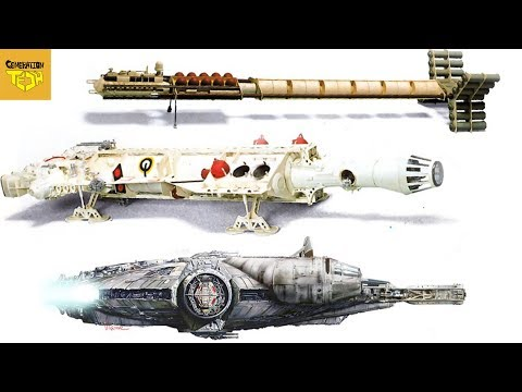 What the Millennium Falcon ALMOST Looked Like