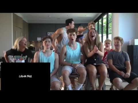 Team 10 reacts to Jake Paul - I love you (song) feat. Logan Paul