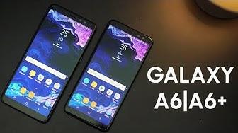 """Samsung """"cải lùi"""" Galaxy A6 và A6+"""