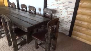 видео Мебель из состаренного дерева