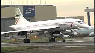 British Airways Supersonic Concorde at Heathrow