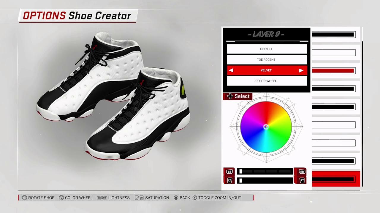 607ac4230eb NBA 2K18 Shoe Creator - Air Jordan 13