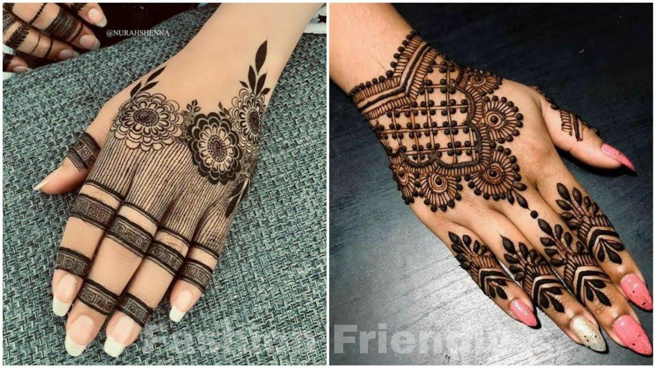 Mehndi Designs Latest Mehendi Design 2019 Back Hand Mehndi Design Fashion Friendly Youtube