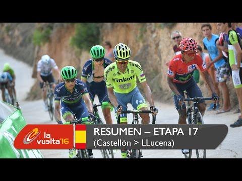 Resumen - Etapa 17 (Castellón / Llucena. Camins del Penyagolosa) - La Vuelta a España 2016