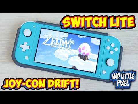 new-nintendo-switch-lite-joy-con-drift-issues-being-reported!?