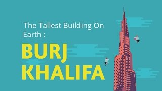 The Tallest Building On Earth : BURJ KHALIFA