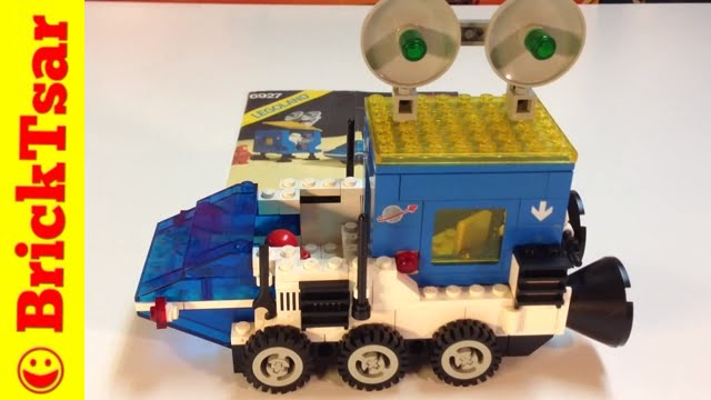 Vintage Lego Classic Space Set 6927 All Terrain Vehicle