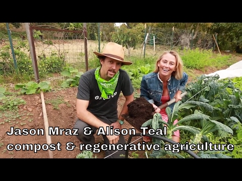 Jason Mraz & Alison Teal discussing Compost and Regenerative Agriculture - Kiss The Ground