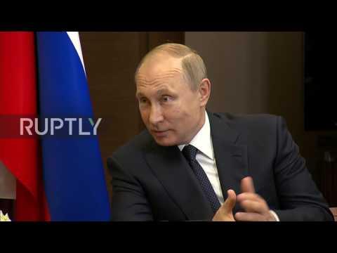 Russia: Putin and Gentiloni tout economic ties in Sochi