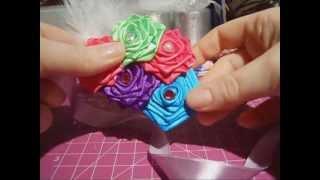 Candy's Creations - Ribbon Rose Tutorial Thumbnail