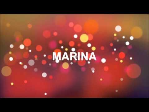 Joyeux Anniversaire Marina Youtube