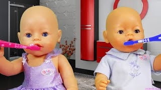 Dominika play with doll Are you sleeping brother John Song