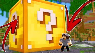 LUCKY BLOCK GIGANTE - MINECRAFT