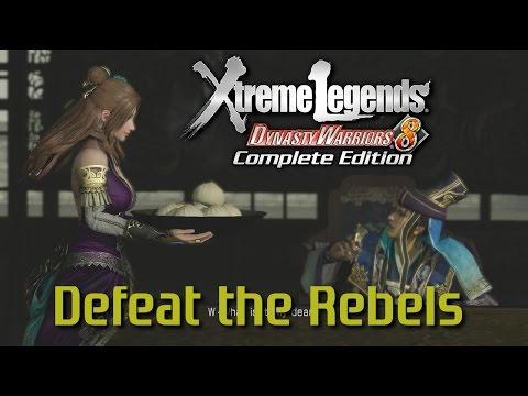 Dynasty Warriors 8 Xtreme Legends | Capture of Chengdu (Jin Hypothetical Route Ep.3)
