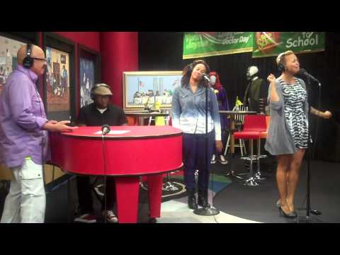 Chrisette Michele performs Epiphany & A Couple of Forevers on the Tom Joyner Morning